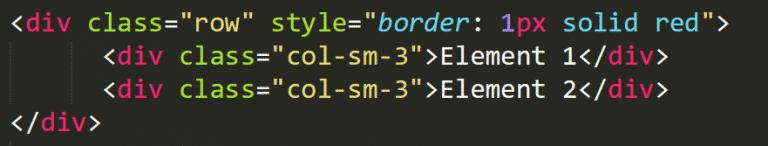 bootstrap 4 alignement