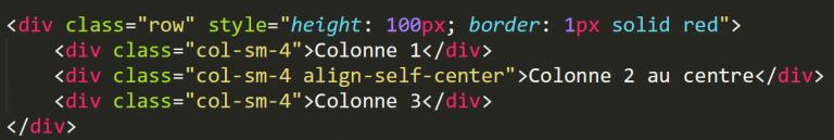 flexbox alignement