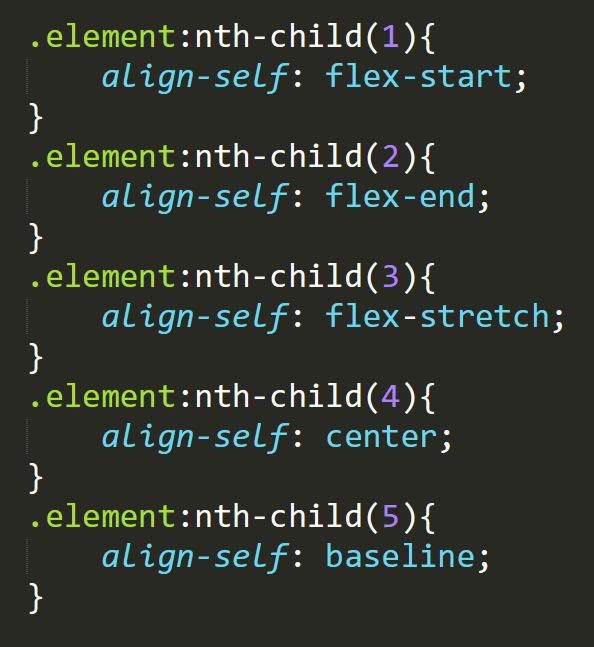 align-self