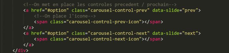 carrousel bootstrap 4